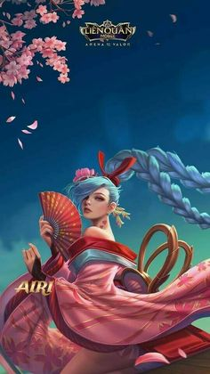 Fantasy Characters, Anime Characters, Jinx League Of Legends, Digital Art Anime, Cute Anime Coupes, Fairytale Fantasies, Anime Princess, Character Wallpaper, Gaming Wallpapers
