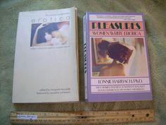 2 Books Women's Erotica Pleasures How to Write Sexual Experiences True Fiction | eBay