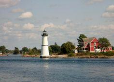 Lighthouse on 1000 Islands