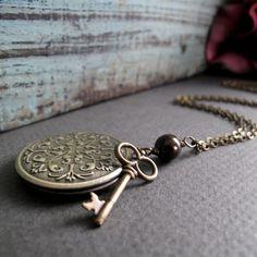 Here's exactly gorgeous - key locket necklace - Fashion Blog