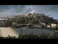 A Cidade Perdida de Atlântida | History