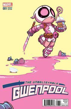 Marvel anuncia que Gwenpool tendrá su propia serie de cómics. ¡Mira sus…