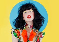 Photo of the Day: Kimbra Poses for Rip It Up Magazine Pretty People, Beautiful People, Editorial Photography, Fashion Photography, Rip It Up, Looks Style, Drawing People, Pose Reference, Colorful Fashion