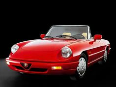 Alfa Romeo Spider (1990 – 1993).