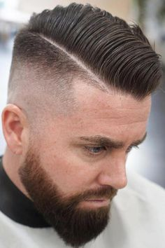 High Fade With Comb Over ★ If you want to try something new - this post especially for you! Here you will find various styles for a comb over fade haircut, types of fades and initial value of comb over haircut. Comb Over Fade Haircut, Short Fade Haircut, Flat Top Haircut, Mens Fade Haircut, High Fade Comb Over, Short Comb Over, Low Fade, Mens Hairstyles Fade, Haircuts For Men