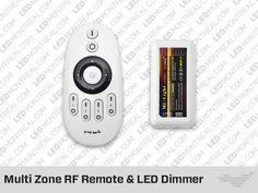 RF Multi Zone Remote and-or Controller - Single Color - LED Montreal