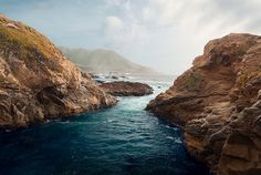 The Rocky Coast of Northern California, via Flickr.