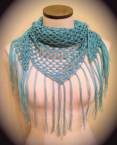 Ravelry: Project Gallery for Triangle Scarf pattern by Bernat Design Studio