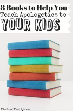 If you're not sure what apologetics is let alone how to teach them, you're in good company. These books will help you to teach kids apologetics like a pro. Gentle Parenting, Parenting Hacks, Peaceful Parenting, Case For Christ, Small Group Bible Studies, Reward Chart Kids, Christian Apologetics, Christian Kids, Christian Living