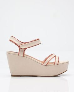 wantering:Seychelles Spy Wedge In Cream ($85)Found by Refinery 29