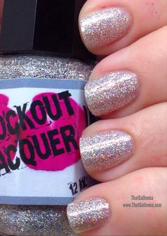 ThatGalJenna - Knockout Lacquer Review and Swatches - V.I. - Virtually Identical