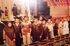 Graduation ISU 1984 , Bac of Science (Math)-with Prof Nasharudin, Sdr Ahmad Azam, Dato' Shakar...