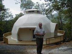 1000 images about roundish homes on pinterest dome - The geodesic dome in connecticut call of earth ...