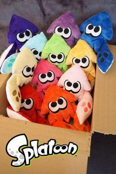 Aw how cute! Splatoon Squid, Splatoon Memes, Nintendo Splatoon, Splatoon 2 Art, Splatoon Comics, Kingdom Hearts, Vocaloid, Fnaf, 9th Birthday