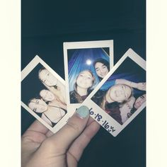 Who knew that Polaroids could be so amazing and great when wanting to make and create memories.