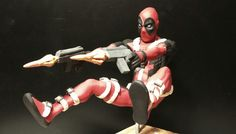 DeadPool in action. Rogues, Deadpool, Rooster, Action, Superhero, Studio, Fictional Characters, Art, Art Background