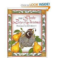 Jan Brett - The Twelve Days of Christmas