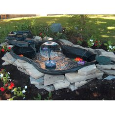 1000 images about landscaping ideas on pinterest pond for 90 gallon pond liner