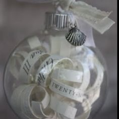 still thinking I should do this with some leftover wedding invites that we never used...