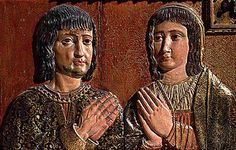 Ferdinand of Aragon and Isabella of Castile, Parents of Catherine of Aragon   by lisby1