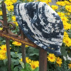 Knitting and so on: Nikko Summer Crochet Hat - free pattern.