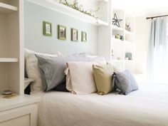 Redecorated our Master Bedroom coastal and fresh