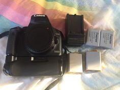Canon EOS Rebel T1i / EOS 500D 15.1MP Digital SLR Camera  Black (Body Only)