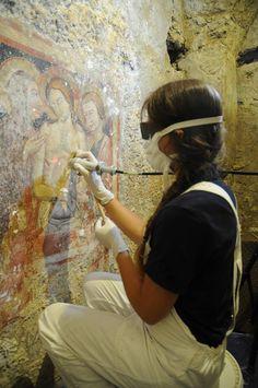 Master di Alta Specializzazione per il Restauro delle Pitture Murali dal 12 Gennaio al 30 Giugno 2015 http://www.istitutoeuropeodelrestauro.it/it/i-corsi/master-pitture-murali.html