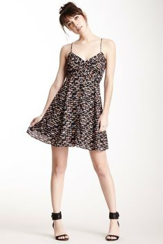 BCBGeneration Cutout V-Neck Dress by Non Specific on @HauteLook