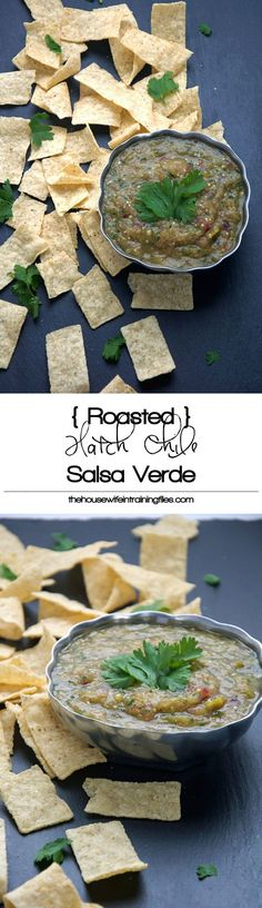 Salsa Verde Recipe, Tomatillo, Tomato, Spicy, Roasted, Easy, Homemade, Authentic, Green, Dip, Mexicana, Sauce