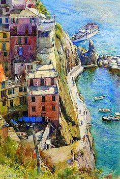 David Curtis - Manarola, Cinqueterre, Italy.