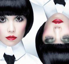 Karl Lagerfeld creates eyelashes with real rubies for Japanese Shu Uemera