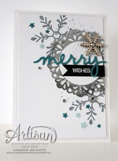 Love for Stamping #artisandesignteam #artisan #stampinup Holly Jolly Greetings