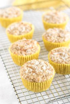 Coconut Pineapple Muffins | infinebalance.com #gluten-free #vegan