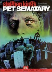 Pet Sematary (1989) Behind a young family's home in Maine is a terrible secret that holds the power of life after death. When tragedy strikes, the threat of that power soon becomes undeniable. Dale Midkiff, Denise Crosby, Fred Gwynne...12b