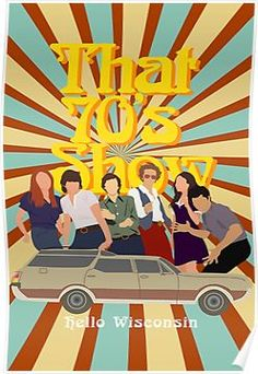 'That Show' Poster by Shayli Kipnis hellooooo wisconsin. Bedroom Wall Collage, Photo Wall Collage, Picture Wall, Room Posters, Poster Wall, Poster Prints, Movie Posters, Protest Posters, Concert Posters