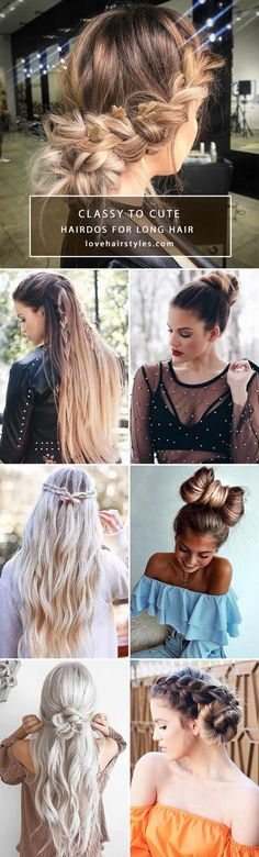 ❤️ Our modern world changes its trends more and more by the minute, so there's no way you've tried everything. We will show you the latest ideas on how to style your long hair so that you will fall back in love with it. ❤️ See more: http://lovehairstyles.com/hairdos-for-long-hair/ #lovehairstyles #hair #hairstyles #haircuts