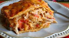 King Ranch Chicken Casserole - Before baking top with pepperjack cheese.  Serve topped with shredded lettuce, diced tomatoes, sliced green onion and sour cream.