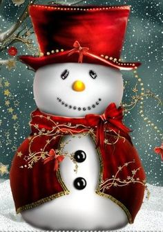 Snowman (well-dressed)