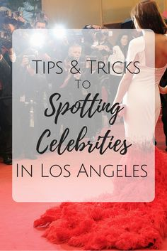 Traveling to Los Angeles? Here are some hot spots and common places for celebrity sightings. Plus tips for How to spot celebs. Read more https://www.busywifebusylife.com/travel/spot-a-celebrity-when-in-los-angeles/?utm_campaign=coschedule&utm_source=pinterest&utm_medium=Sherita&utm_content=How%20To%20Easily%20Spot%20a%20Celebrity%20When%20in%20Los%20Angeles
