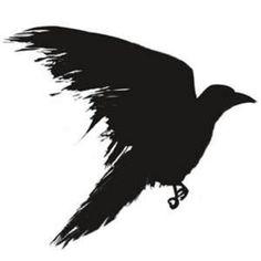 Crow Tattoo. Artist Kagari Z @deviantART