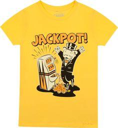 Jackpot Mr Monopoly T-Shirt