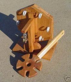 Six Strand Rope Machine Maker Hand Operated (05/31/2007)