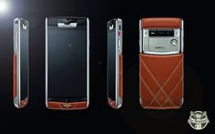 Would you ever have imagined that a #smartphone could encompass all the elegance of a #Bentley? The luxuriously exclusive #Vertu phone does exactly that.