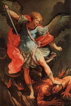 Guido Reni, «San Michele Arcangelo», 1635, Roma, Chiesa dei Cappuccini