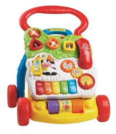 VTech First Steps Baby Walker  - Click image twice for more info - see a larger selection of  baby walker  at  http://zbabybaby.com/category/baby-categories/baby-activity-gear/baby-walker/   -  gift ideas, baby , baby shower gift ideas, toddler .« zBabyBaby.com