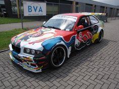 BMW E36 M3 Art Car by Menno Baars