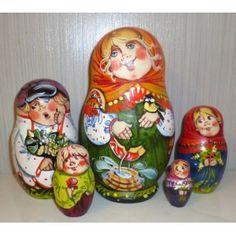 Vasilisa #Babushka #russiandoll #matryoshka #dollsindolls #decor #traditional