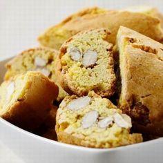 Olasz mandulás kétszersült (cantuccini) Banana Bread, French Toast, Muffins, Cookies, Breakfast, Cake, Food, Italy, Pie Cake