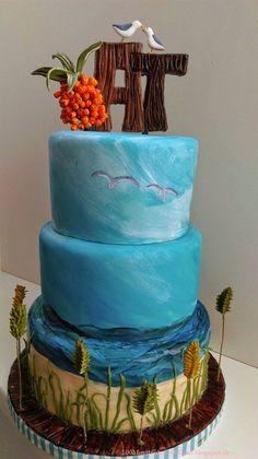 Die 89 Besten Bilder Von Maritime Torten Fondant Cakes Birthday
